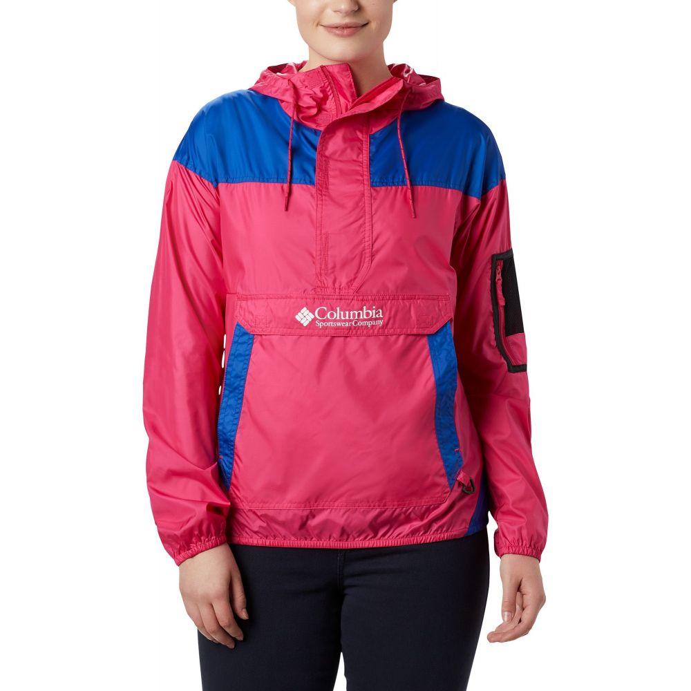 コロンビア Columbia レディース ジャケット ウィンドブレーカー アウター【Challenger Windbreaker Jacket】Cactus Pink/Azul