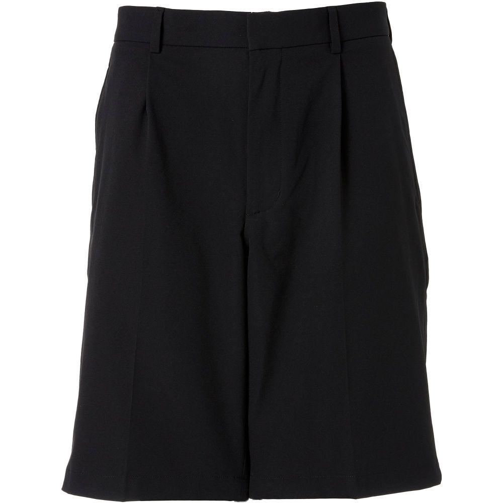 ウォルターヘーゲン Walter Hagen メンズ ゴルフ ショートパンツ ボトムス・パンツ【11 Majors Pleated Golf Shorts】Black