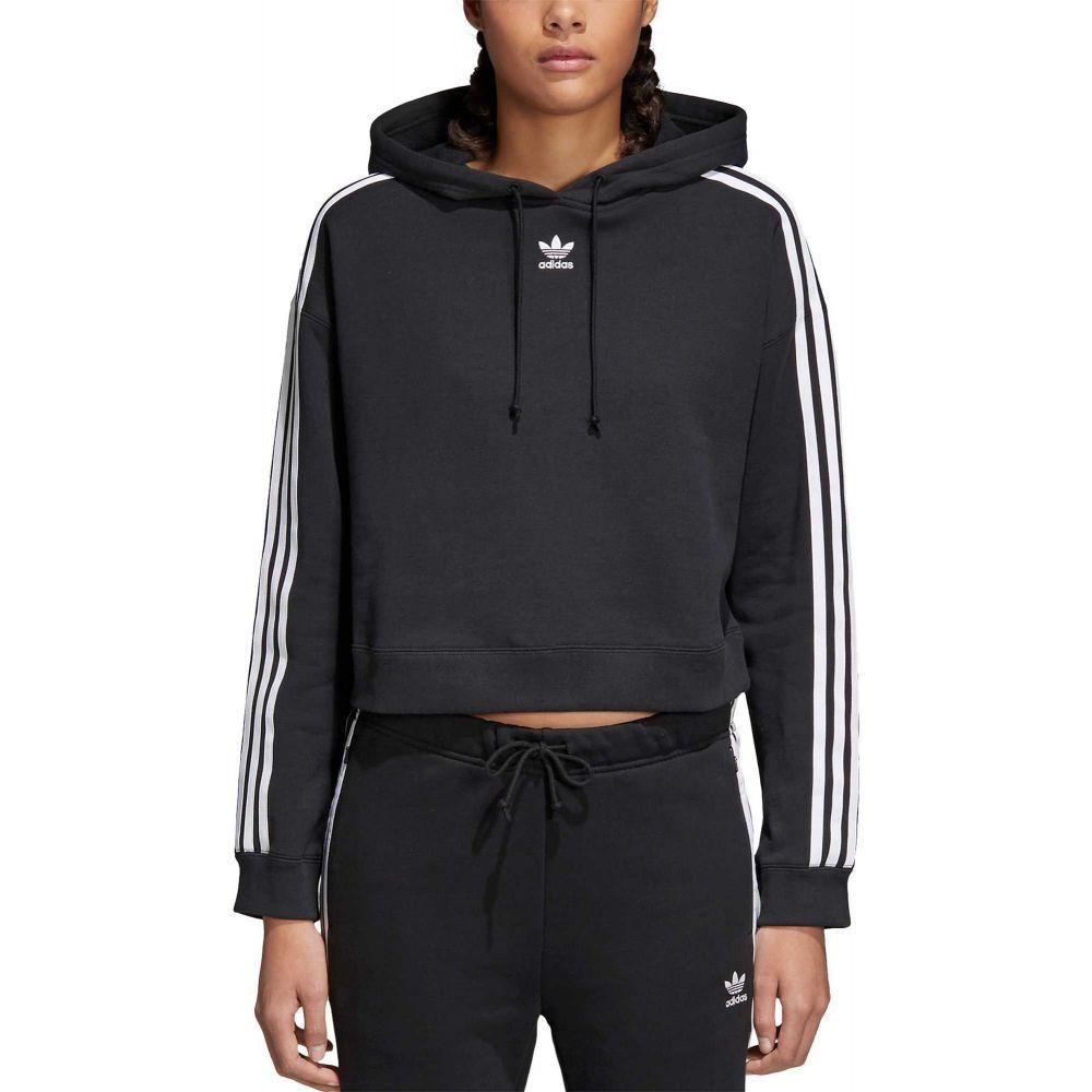 アディダス adidas レディース パーカー トップス【Originals Cropped Hoodie】Black