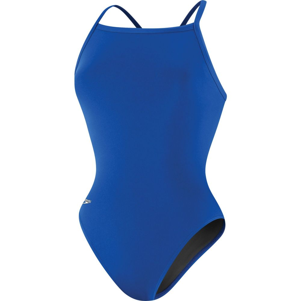 スピード Speedo レディース ワンピース 水着・ビーチウェア【Flyback Endurance+ Training Swimsuit】Sapphire