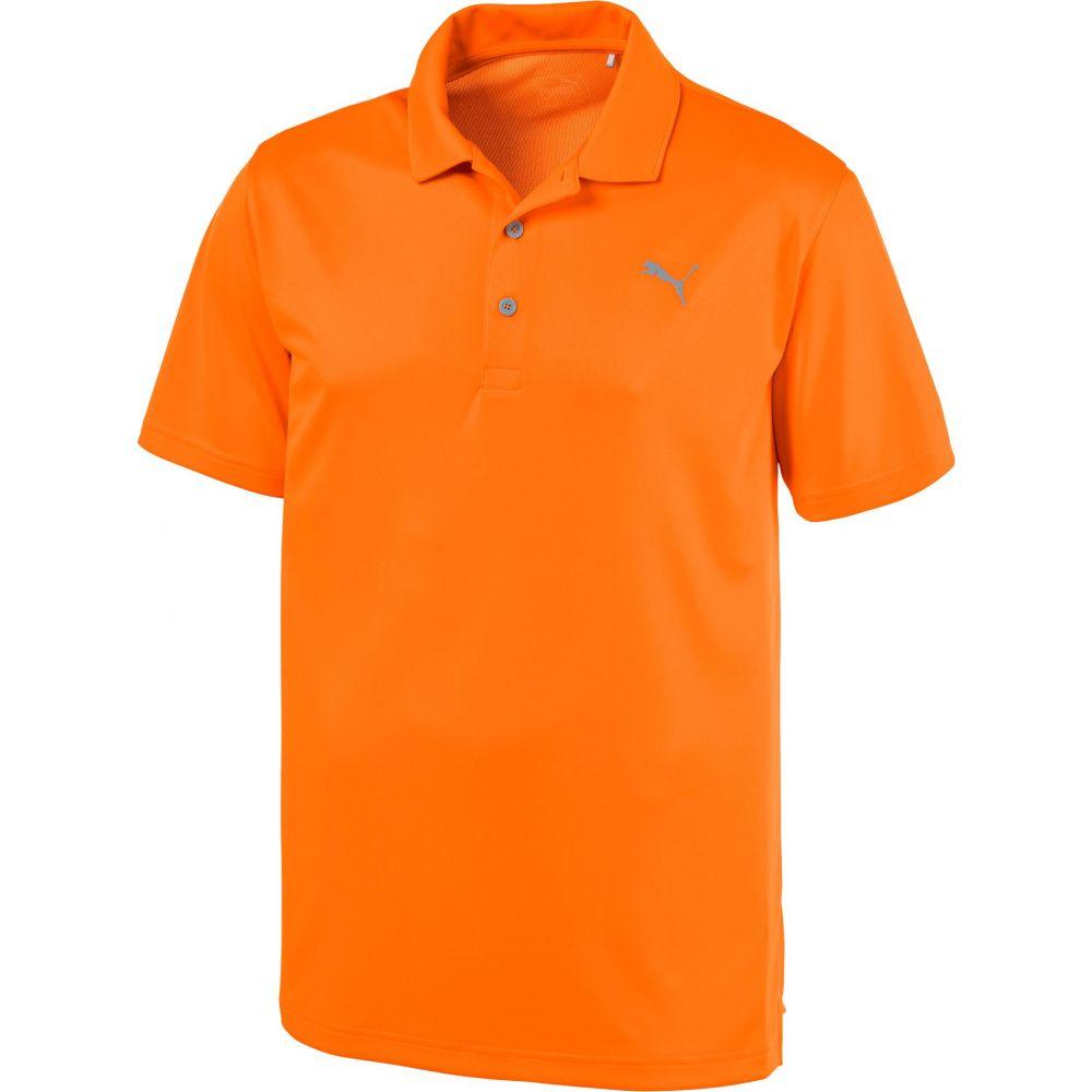 プーマ PUMA メンズ ゴルフ ポロシャツ トップス【Rotation Golf Polo】Vibrant Orange