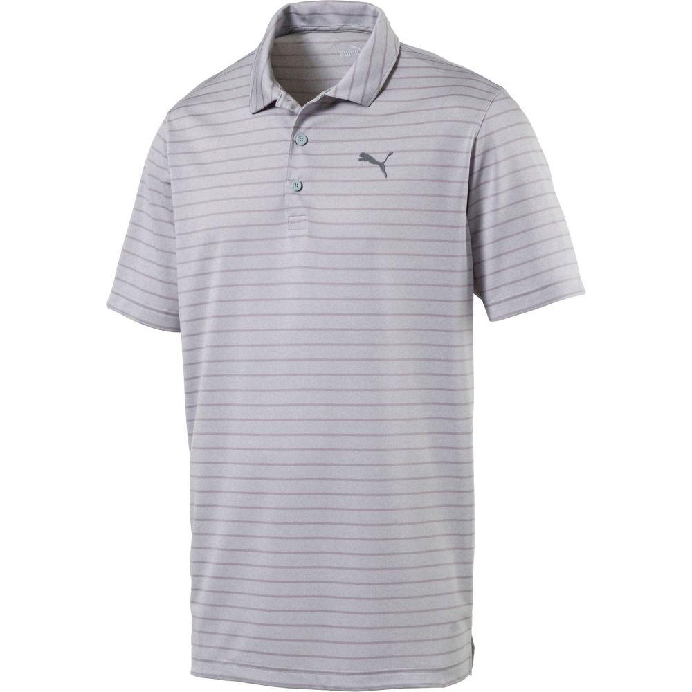 プーマ PUMA メンズ ゴルフ ポロシャツ トップス【Rotation Stripe Golf Polo】Quarry