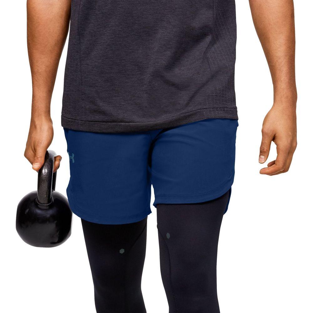 アンダーアーマー Under Armour メンズ ショートパンツ ボトムス・パンツ【Stretch Woven Short】American Blue/Versa Blue