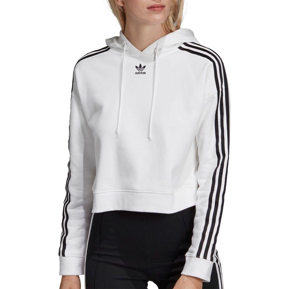 アディダス adidas レディース パーカー トップス【Originals Cropped Hoodie】White