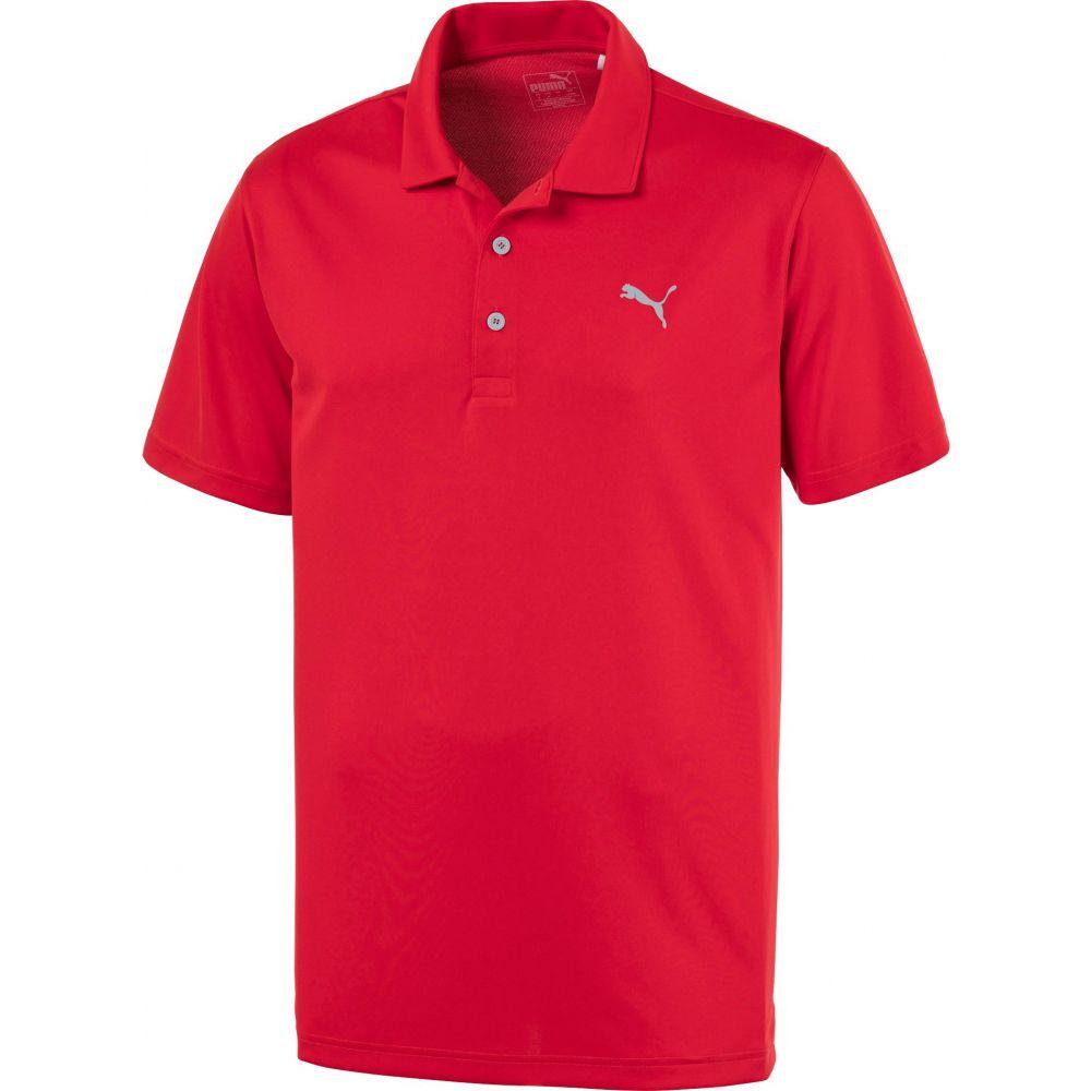 プーマ PUMA メンズ ゴルフ ポロシャツ トップス【Rotation Golf Polo】High Risk Red