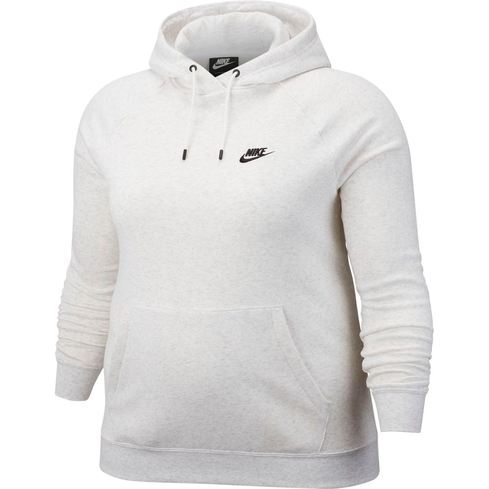 ナイキ Nike レディース パーカー 大きいサイズ トップス【Plus Size Sportswear Essential Fleece Pullover Hoodie】Birch Heather