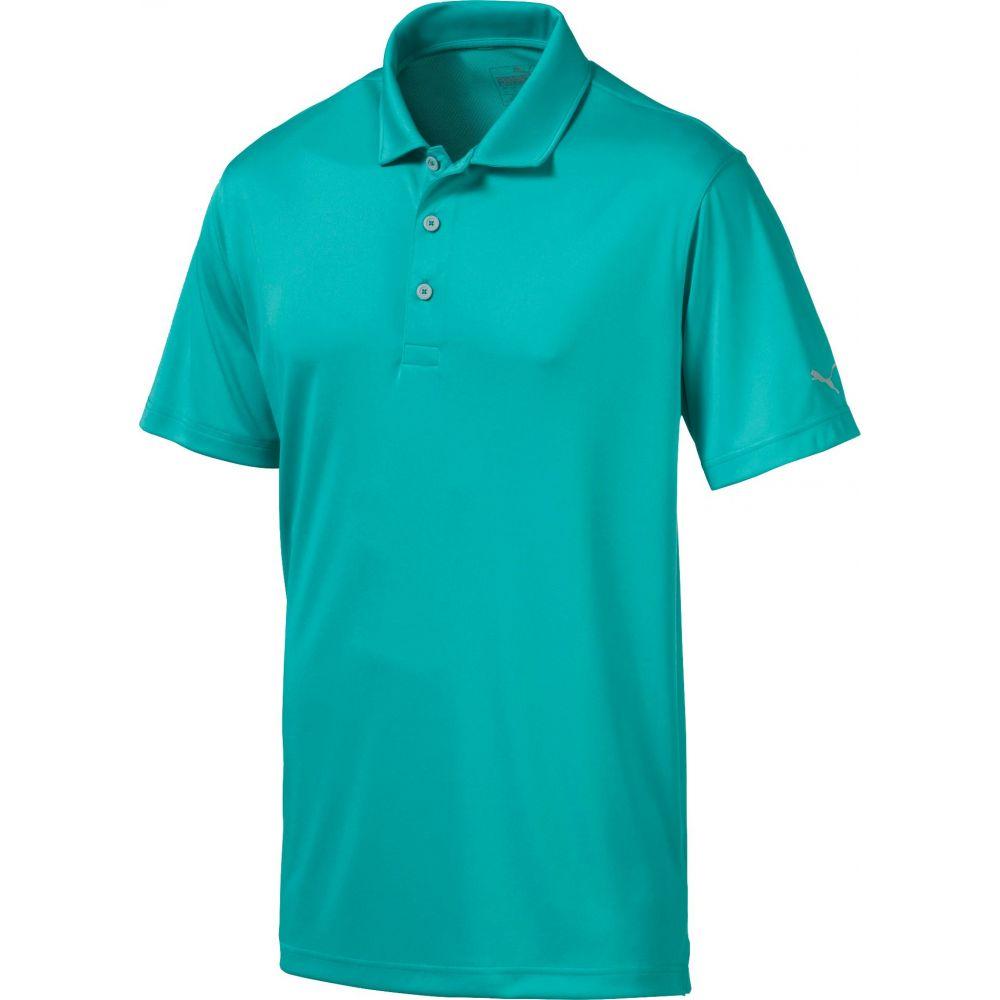 プーマ PUMA メンズ ゴルフ ポロシャツ トップス【Rotation Golf Polo】青 Turquoise