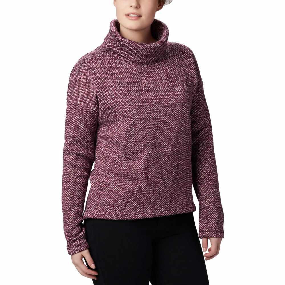 コロンビア Columbia レディース フリース トップス【Chillin Fleece Pullover Sweater】Black Cherry