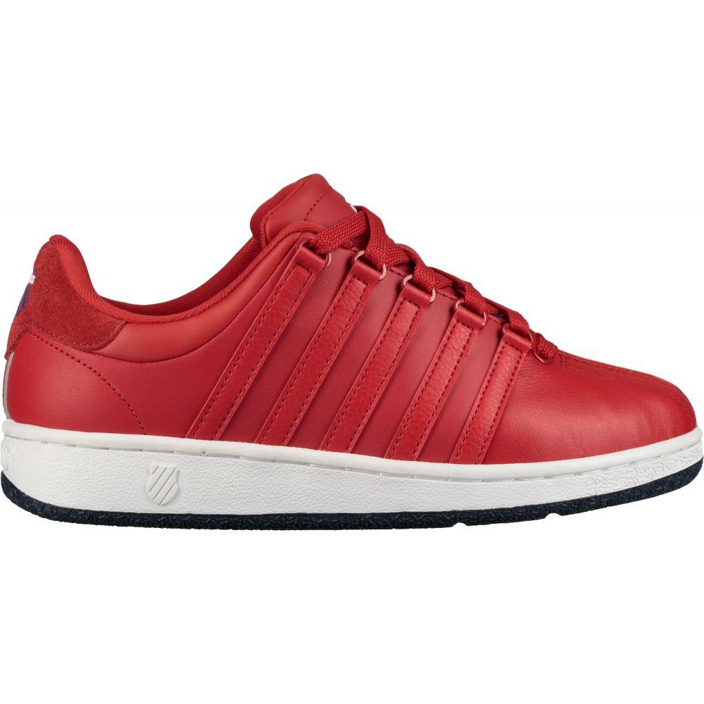 ケースイス K-Swiss レディース スニーカー シューズ・靴【Classic VN Shoes】Red/Navy/White