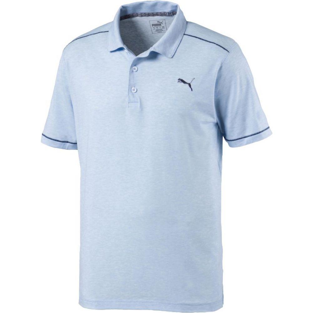 プーマ PUMA メンズ ゴルフ ポロシャツ トップス【Rancho Golf Polo】Blue Bell Heather