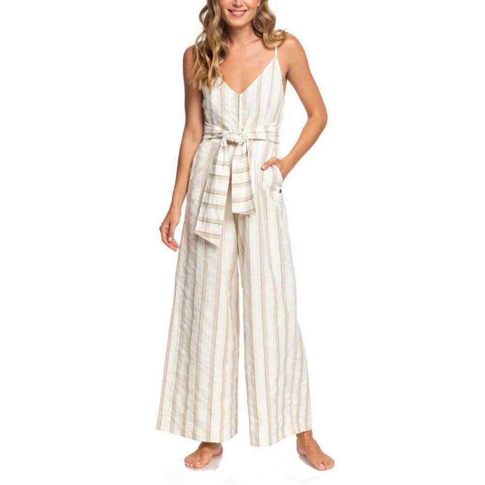 ロキシー Roxy レディース オールインワン ジャンプスーツ ワンピース・ドレス【Wheel & Palms Jumpsuit】Marshmallow