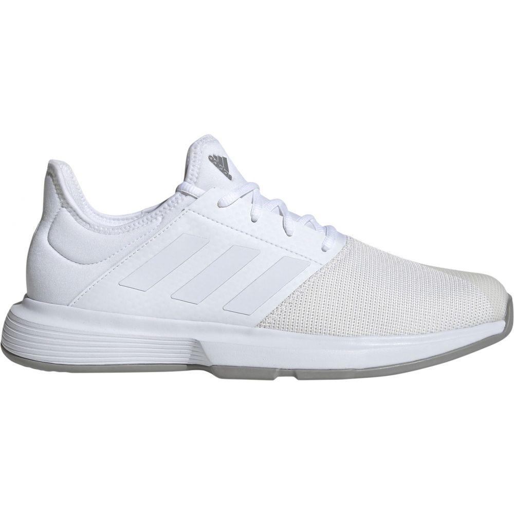 アディダス adidas メンズ テニス シューズ・靴【GameCourt Tennis Shoes】White/Grey