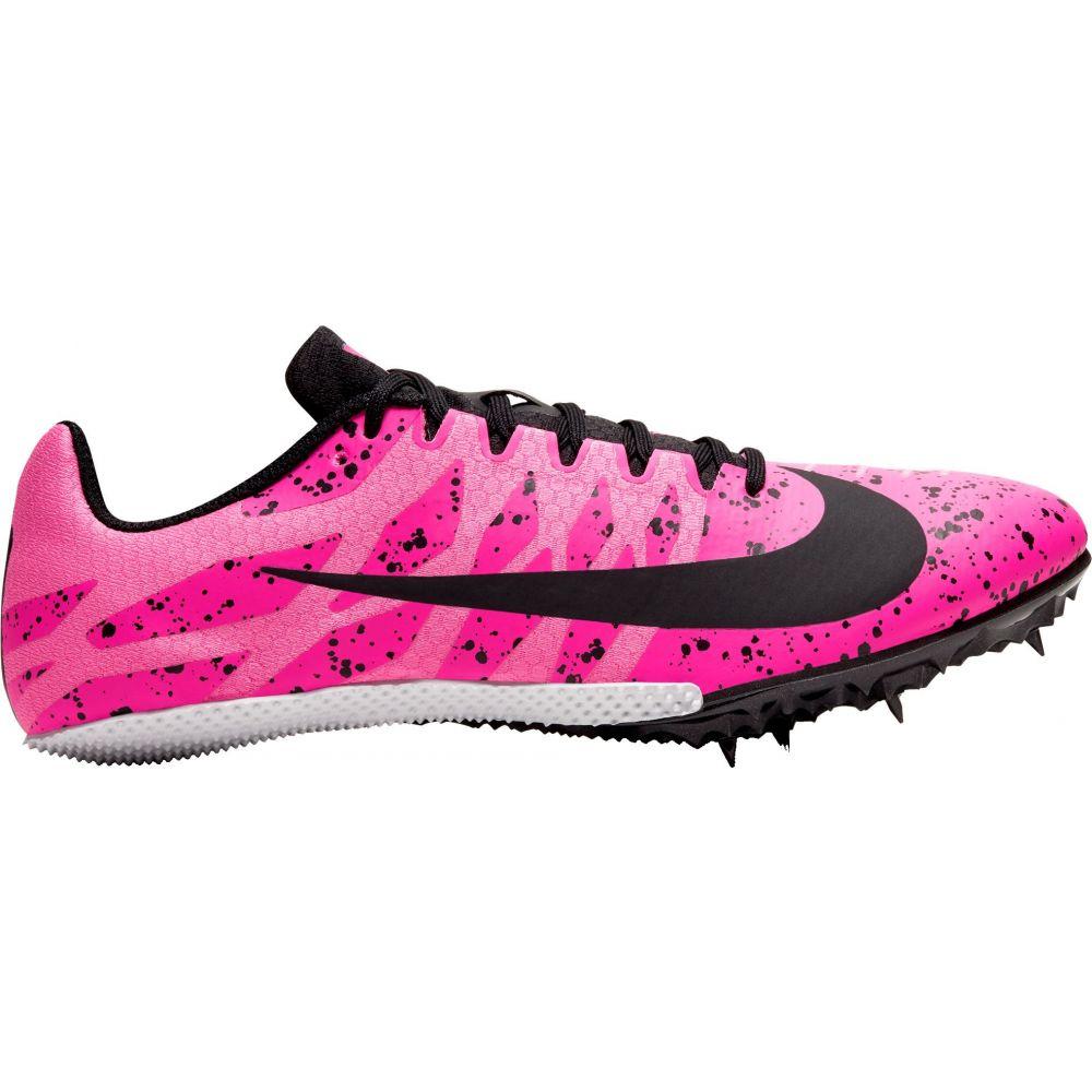 ナイキ Nike メンズ 陸上 シューズ・靴【Zoom Rival S 9 Track and Field Shoes】Pink/Black