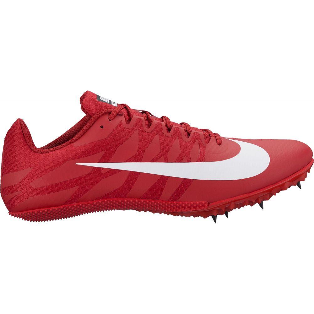 ナイキ Nike メンズ 陸上 シューズ・靴【Zoom Rival S 9 Track and Field Shoes】Red/White