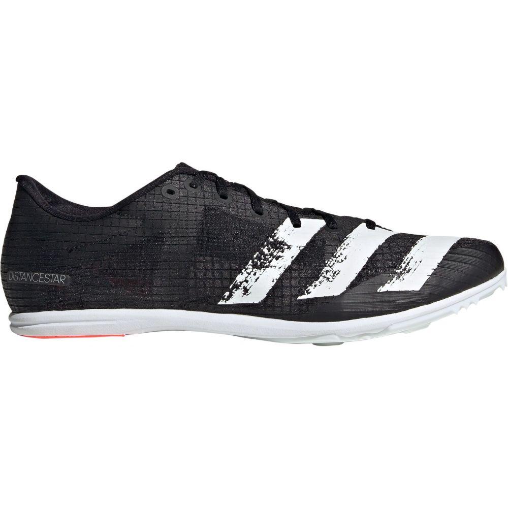 アディダス adidas メンズ 陸上 スパイク シューズ・靴【Distancestar Track and Field Cleats】Black/White