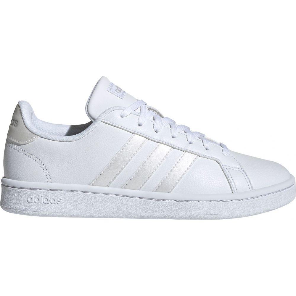 アディダス adidas レディース スニーカー シューズ・靴【Grand Court Shoes】White/White/Grey