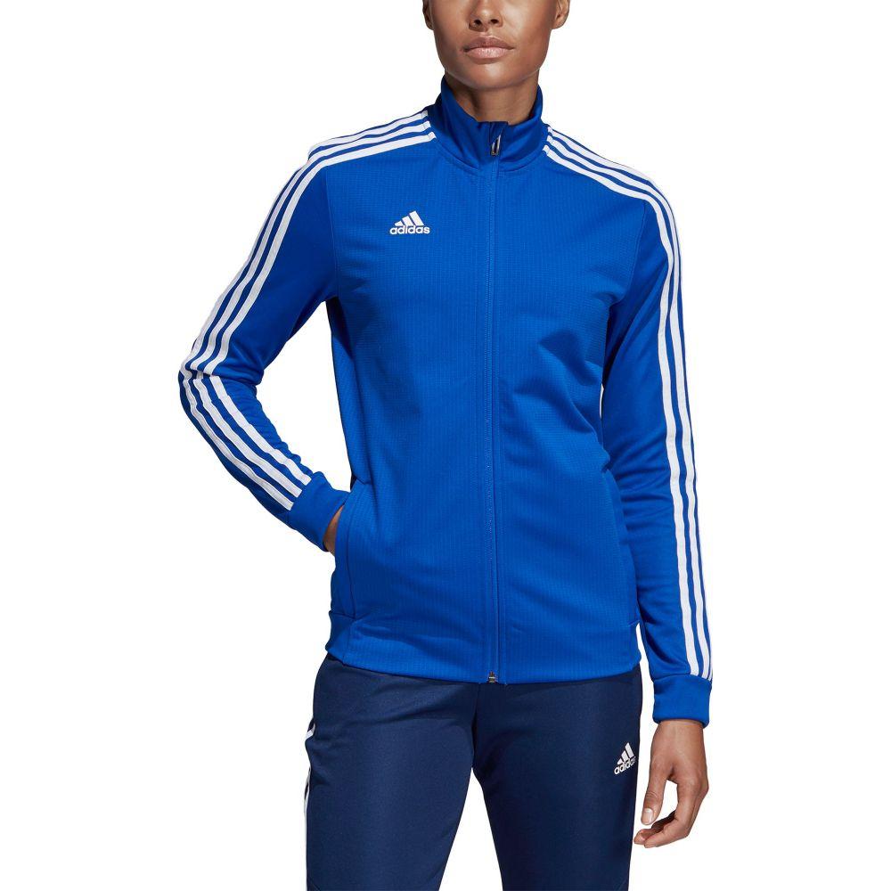 アディダス adidas レディース フィットネス・トレーニング ジャケット アウター【Tiro 19 Training Jacket】Bold Blue
