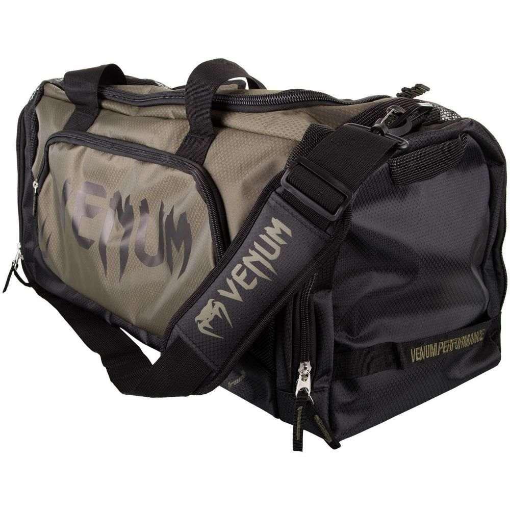 ヴェヌム Venum ユニセックス ボストンバッグ・ダッフルバッグ バッグ【Trainer Lite Duffle Bag】Khaki/Black