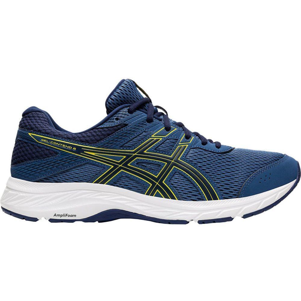 アシックス ASICS メンズ ランニング・ウォーキング シューズ・靴【GEL-Contend 6 Running Shoes】Blue/Yellow