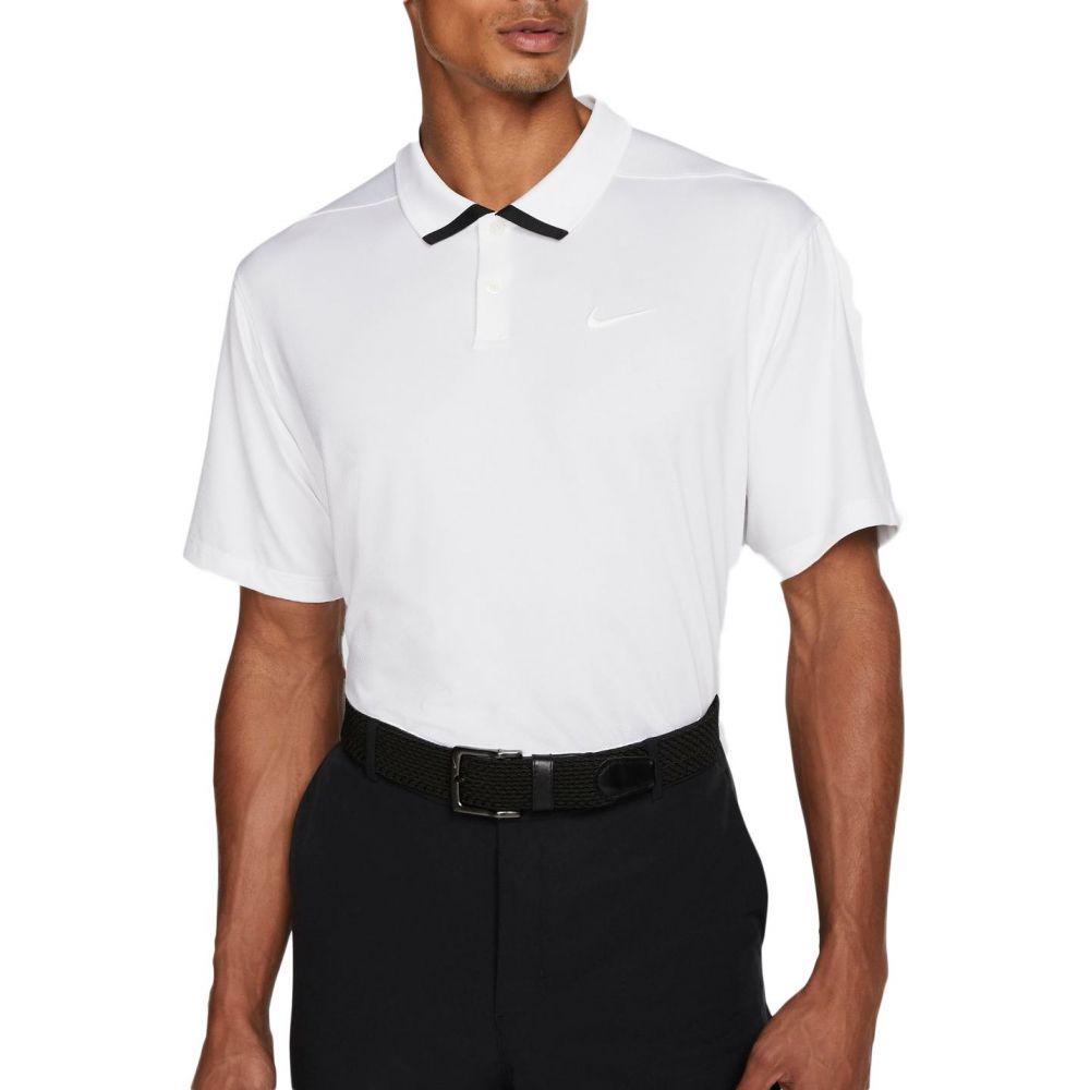 ナイキ Nike メンズ ゴルフ ドライフィット トップス【Dri-FIT Vapor Golf Polo】White