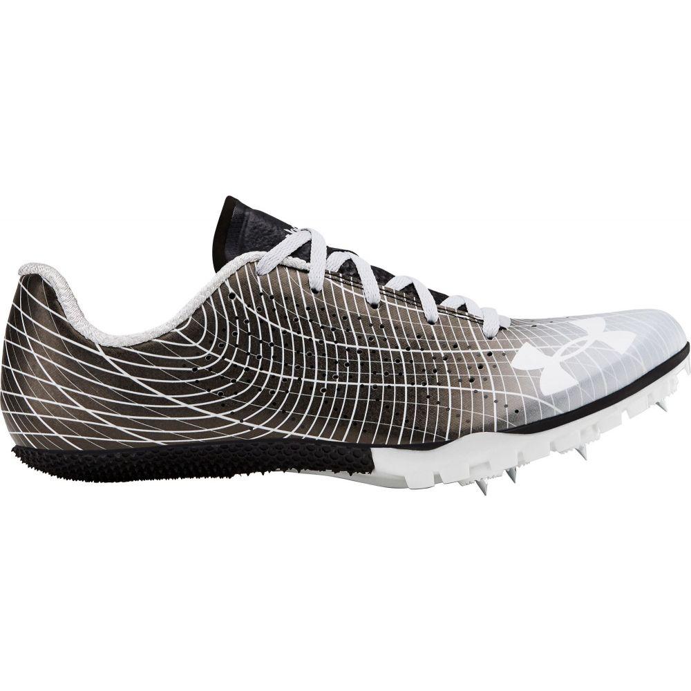 アンダーアーマー Under Armour メンズ 陸上 シューズ・靴【Kick Sprint 3 Track and Field Shoes】Black/Gray