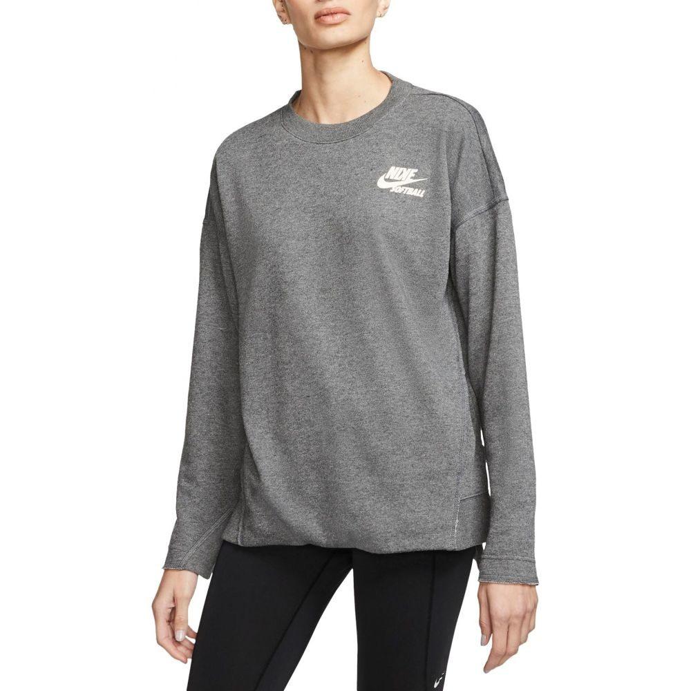 ナイキ Nike レディース 野球 トップス【Long-Sleeve Softball Crew Shirt】Chl Heathr/Pale Ivory