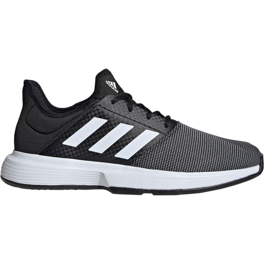 アディダス メンズ テニス シューズ・靴 【サイズ交換無料】 アディダス adidas メンズ テニス シューズ・靴【GameCourt Tennis Shoes】Black/Grey/White