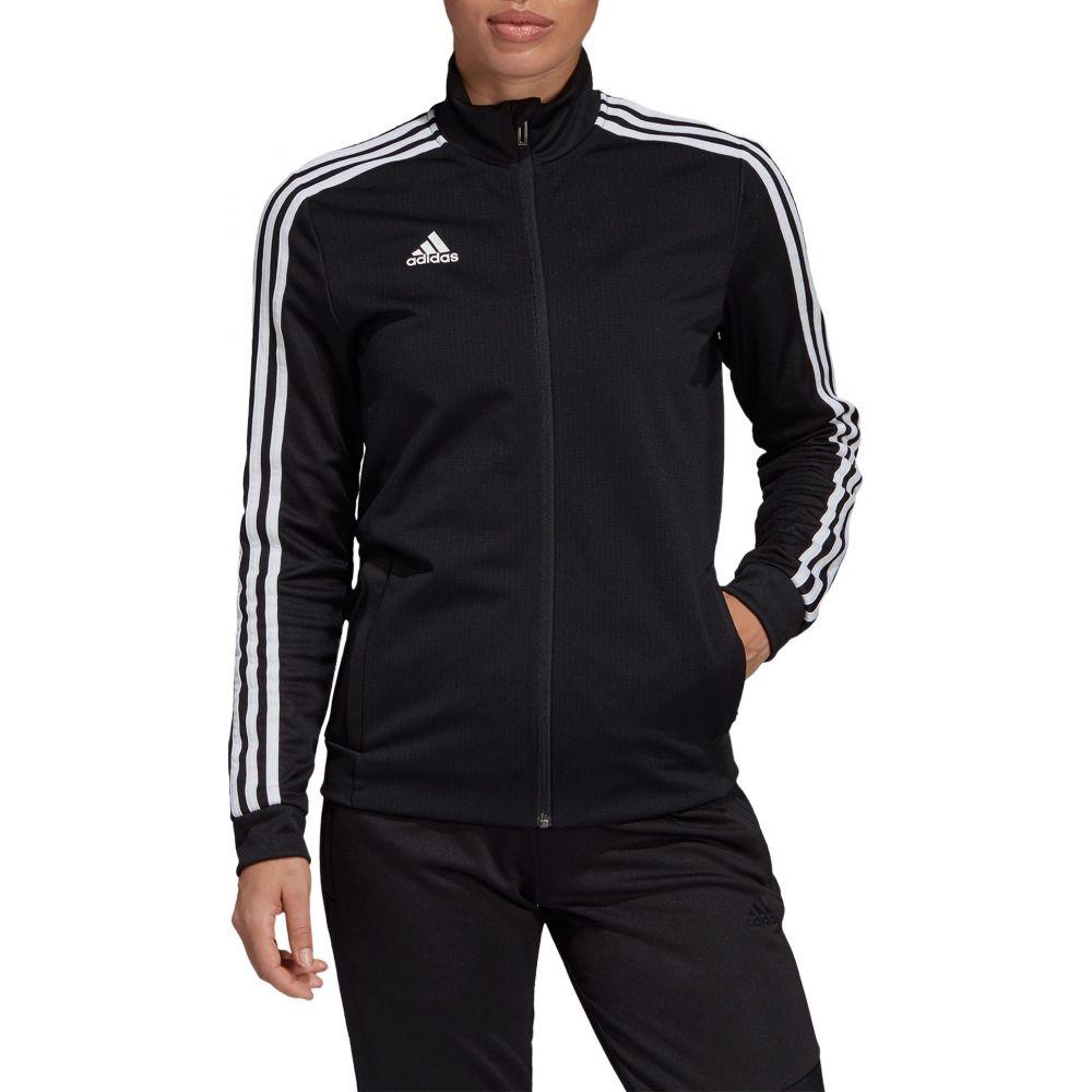 アディダス adidas レディース フィットネス・トレーニング ジャケット アウター【Tiro 19 Training Jacket】Black/Black/White