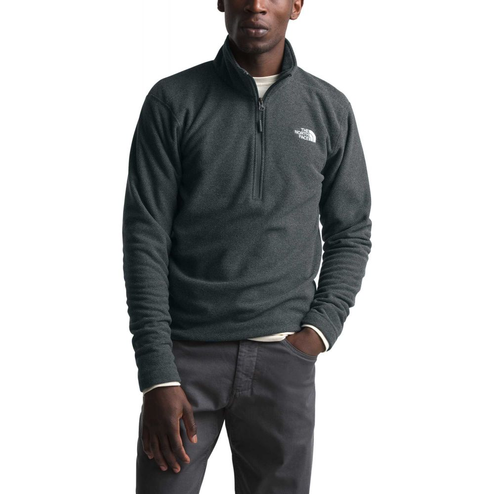 ザ ノースフェイス The North Face メンズ フリース トップス【Textured Cap Rock 1/4 Zip Pullover】Asphalt Grey