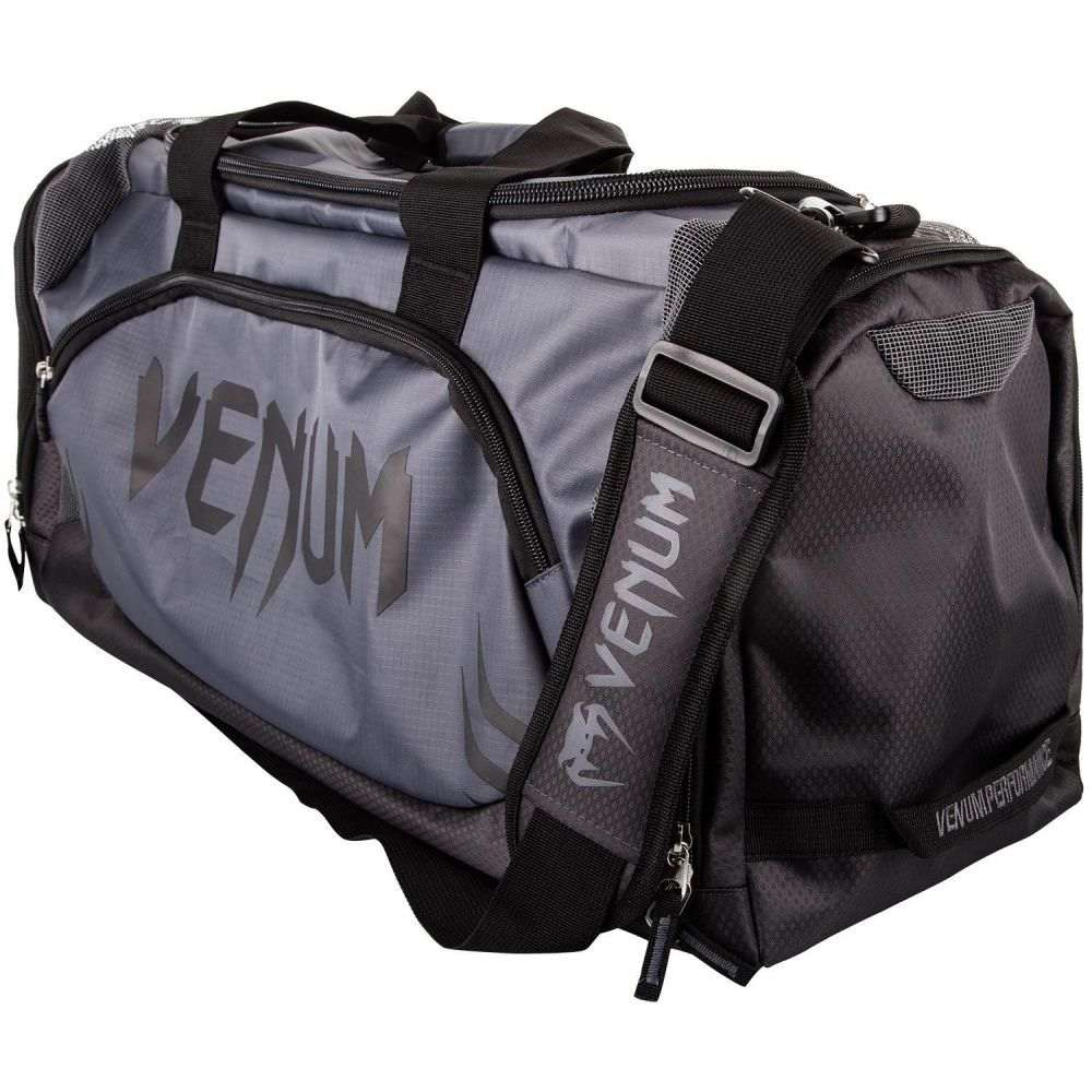 ヴェヌム Venum ユニセックス ボストンバッグ・ダッフルバッグ バッグ【Trainer Lite Duffle Bag】Grey/Grey