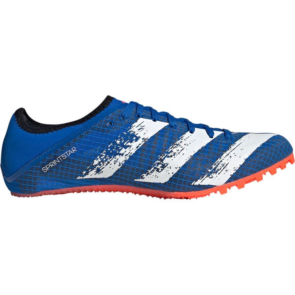 アディダス adidas メンズ 陸上 スパイク シューズ・靴【Sprintstar Track and Field Cleats】Blue/Red