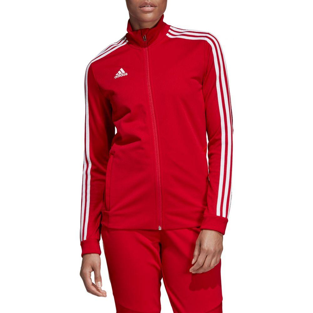 アディダス adidas レディース フィットネス・トレーニング ジャケット アウター【Tiro 19 Training Jacket】Power Red