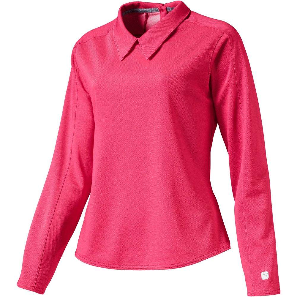 プーマ PUMA レディース ゴルフ ポロシャツ トップス【Long Sleeve Golf Polo】Azalea
