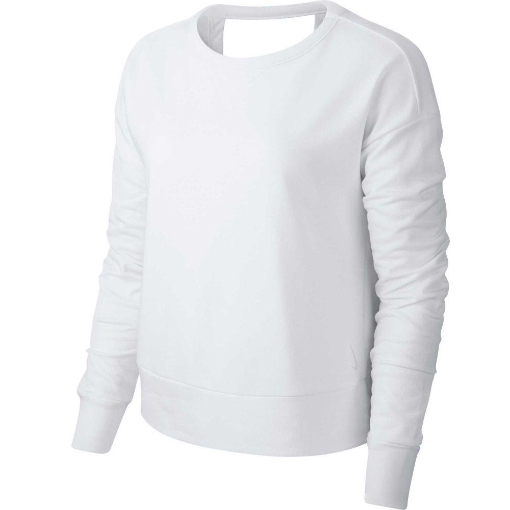 ナイキ Nike レディース ヨガ・ピラティス トップス【Yoga Long Sleeve Open Back Training Top】Summit White
