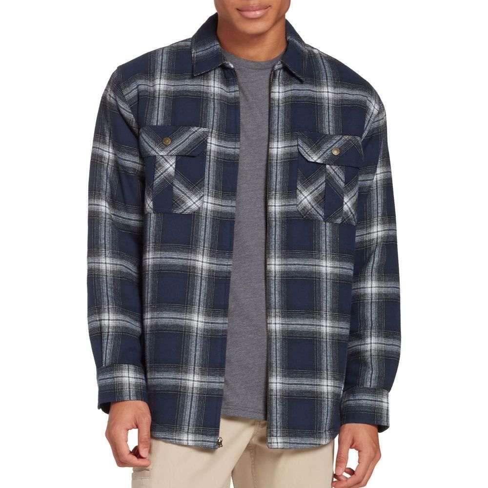 フィールドアンドストリーム Field & Stream メンズ フリース シャツジャケット トップス【Sherpa Lined Shirt Jacket】Boondock Pld Dress Blue