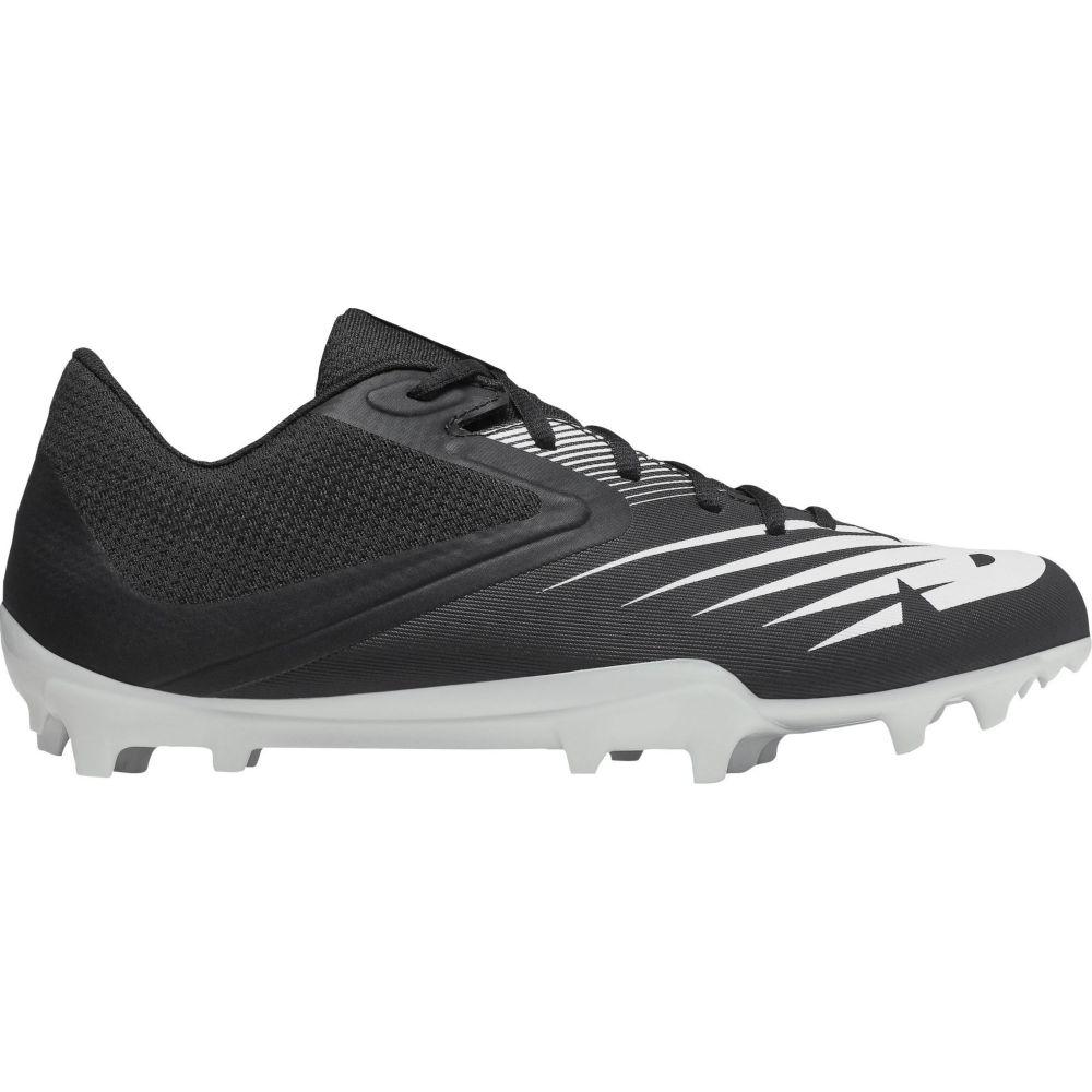 ニューバランス New Balance メンズ ラクロス スパイク シューズ・靴【Rush V2 Lacrosse Cleats】Black/White
