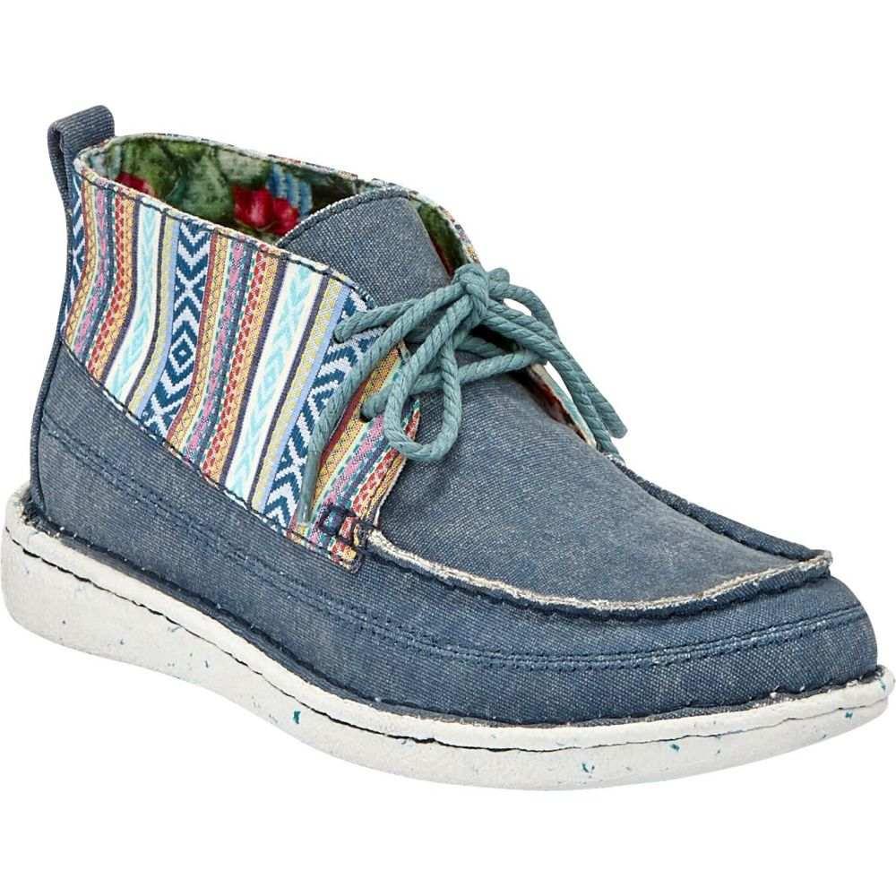 ジャスティンブーツ Justin Boots レディース シューズ・靴 【Justin Breezy Casual Shoes】Denim