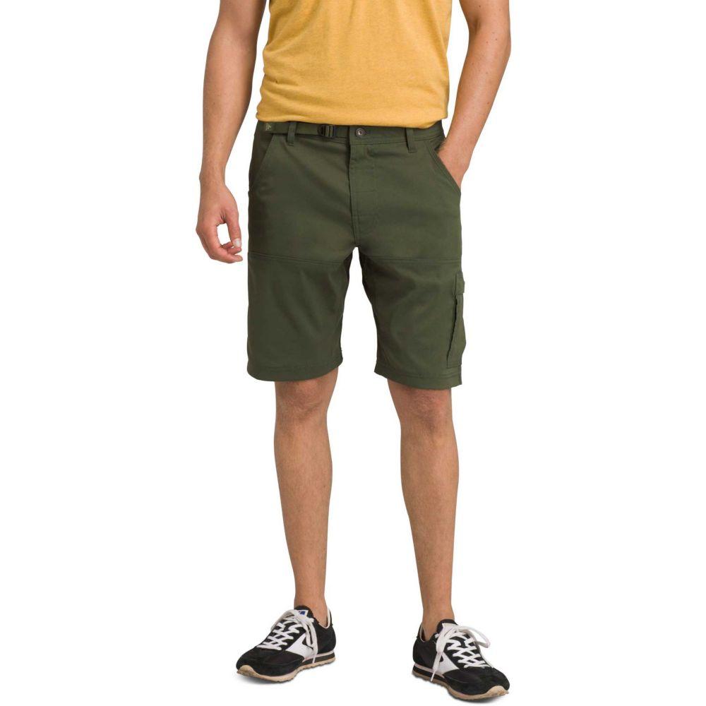 プラーナ prAna メンズ ショートパンツ ボトムス・パンツ【Stretch Zion Shorts (Regular and Big & Tall)】Nori Green