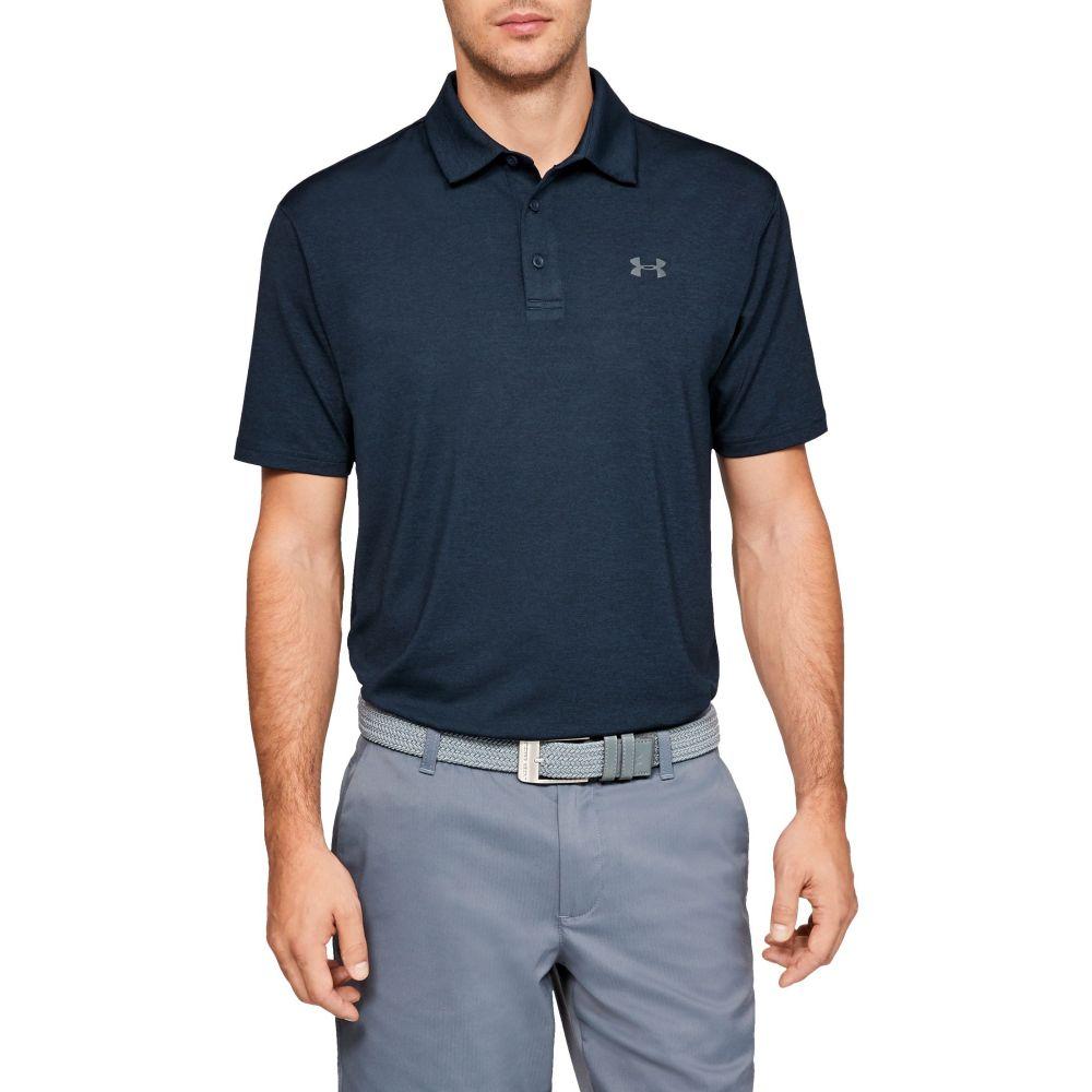 アンダーアーマー Under Armour メンズ ゴルフ ポロシャツ トップス【Playoff 2.0 Heather Golf Polo】Academy