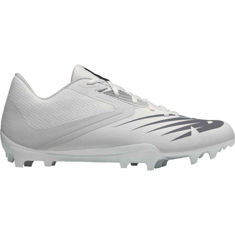 ニューバランス New Balance メンズ ラクロス スパイク シューズ・靴【Rush V2 Lacrosse Cleats】White/Grey