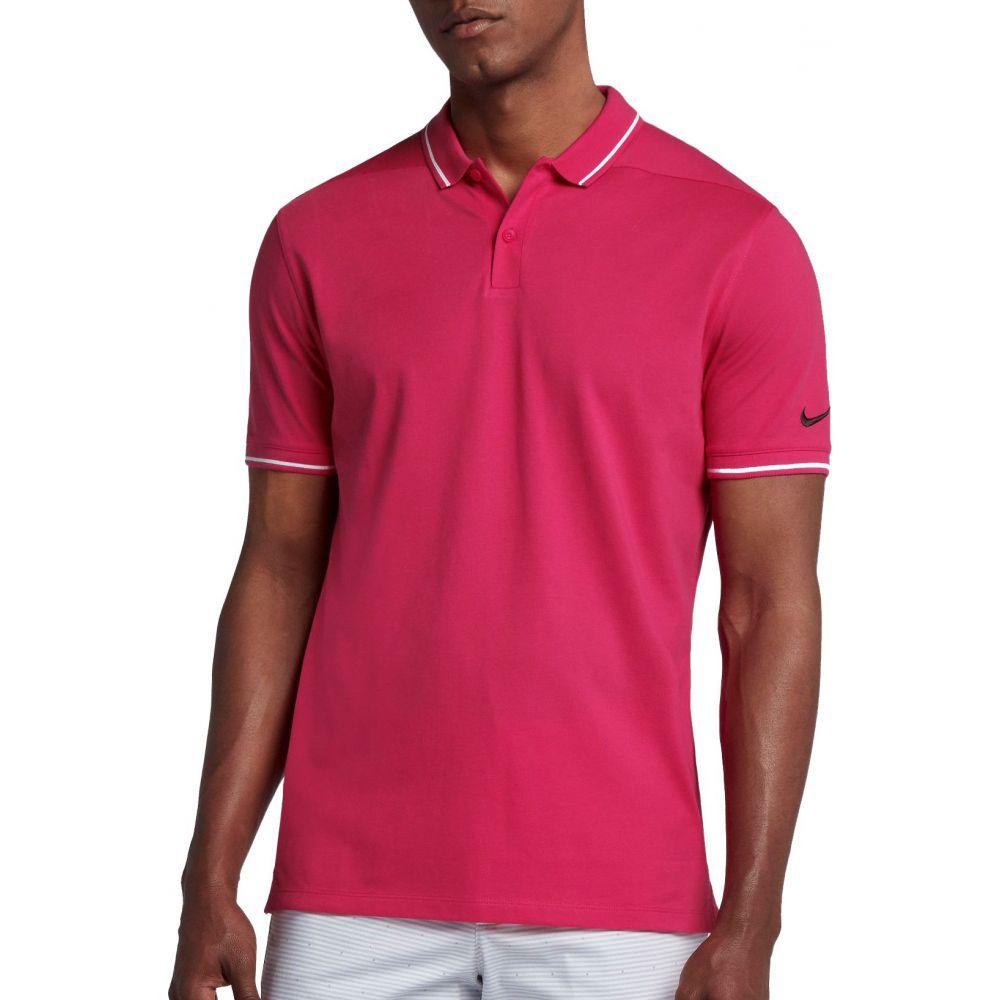 ナイキ Nike メンズ ゴルフ ポロシャツ トップス【Classic Pique Golf Polo】Rush Pink