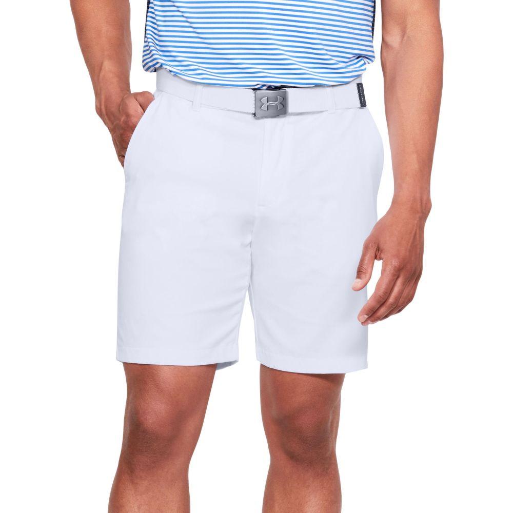アンダーアーマー メンズ ゴルフ ボトムス・パンツ 【サイズ交換無料】 アンダーアーマー Under Armour メンズ ゴルフ ショートパンツ ボトムス・パンツ【Showdown Golf Shorts】White