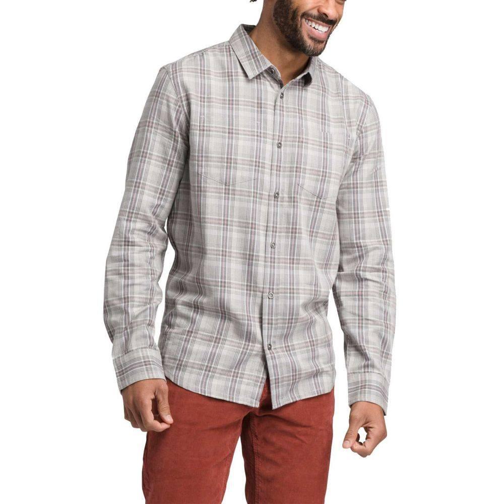 プラーナ prAna メンズ シャツ トップス【Holton Long Sleeve Button Down Shirt】Silver Spray