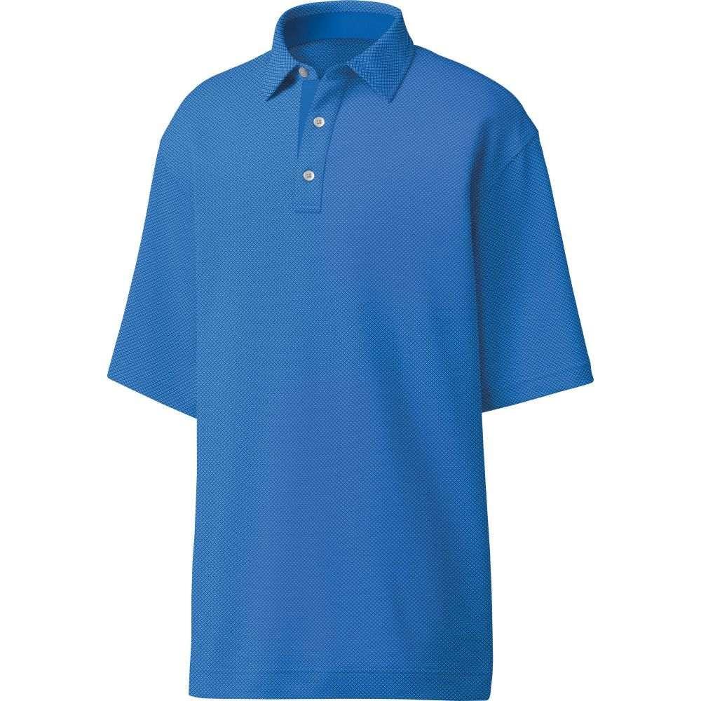 フットジョイ FootJoy メンズ ゴルフ ポロシャツ トップス【4 Dot Jacquard Golf Polo】Royal/White