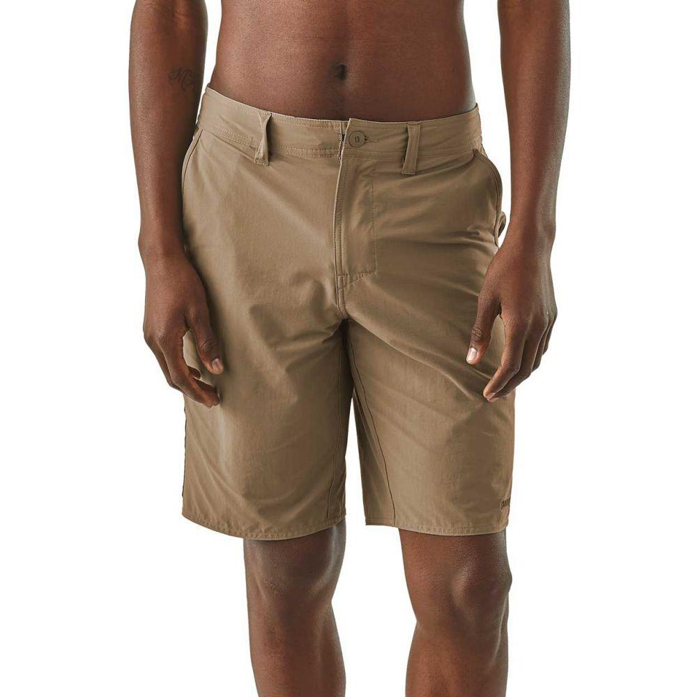 パタゴニア Patagonia メンズ ショートパンツ ボトムス・パンツ【Stretch Wavefarer Walk Shorts】Ash Tan