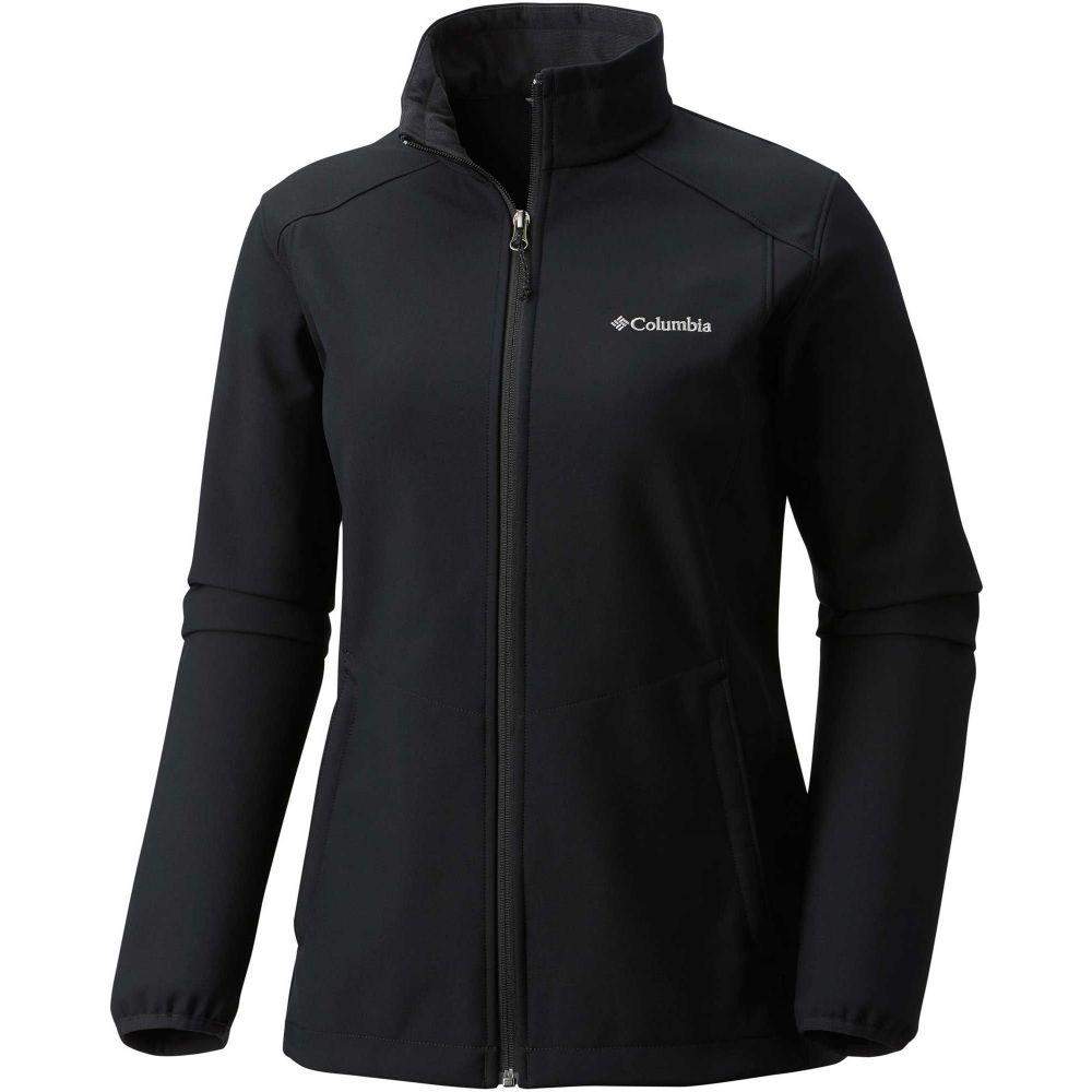 コロンビア Columbia レディース ジャケット ソフトシェルジャケット アウター【Kruser Ridge II Softshell Jacket】Black
