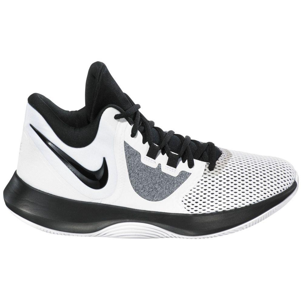 ナイキ Nike メンズ バスケットボール シューズ・靴【Air Precision 2 Basketball Shoes】White/Black/Platinum