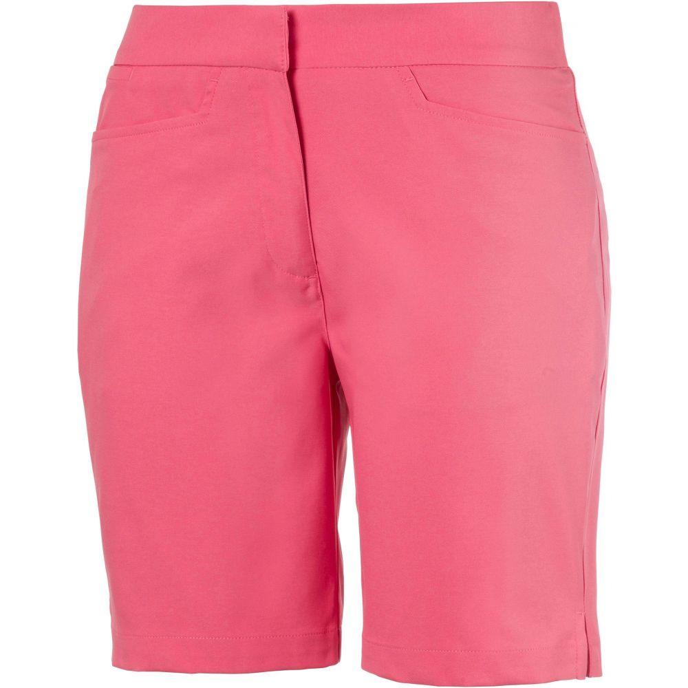プーマ PUMA レディース ゴルフ ショートパンツ ボトムス・パンツ【Pounce Bermuda Golf Shorts】Rapture Rose