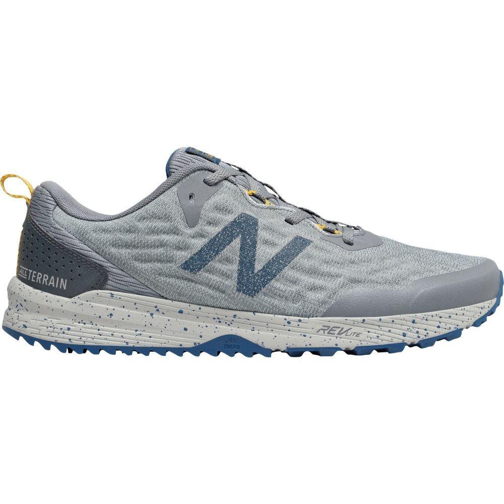 ニューバランス New Balance メンズ ランニング・ウォーキング シューズ・靴【NITRELv3 Trail Running Shoes】Grey/Blue