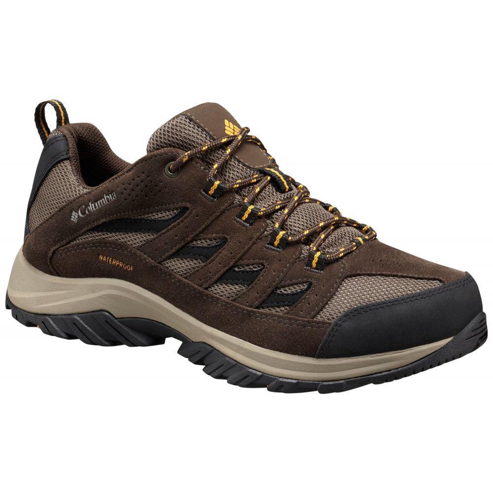 コロンビア Columbia メンズ ハイキング・登山 シューズ・靴【Crestwood Waterproof Hiking Shoes】Mud/Squash